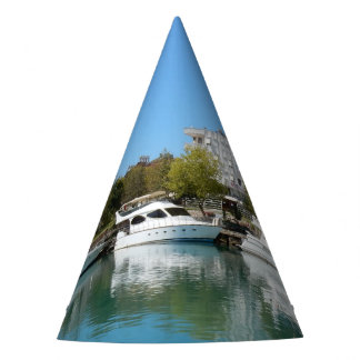 Yachts in Turkey Party Hat