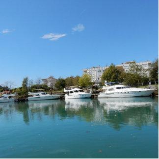 Yachts in Turkey Photo Sculpture Decoration