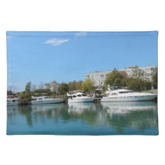 Yachts in Turkey Placemat