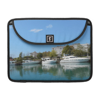 Yachts in Turkey Sleeve For MacBooks