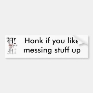 Yahhh2Forever Bumper Sticker