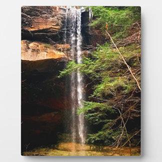 Yahoo Falls, Big South Fork Kentucky Plaque