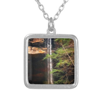 Yahoo Falls, Big South Fork Kentucky Silver Plated Necklace