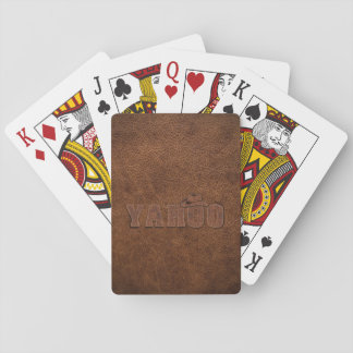YAHOO western style Playing Cards