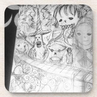 yaie monster manga anime coaster