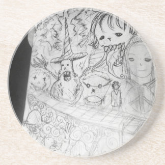 yaie monster manga anime coasters