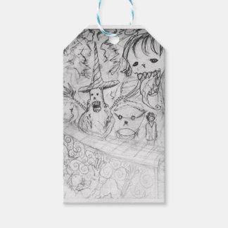 yaie monster manga anime gift tags