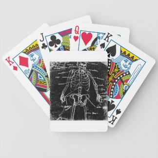 yaie tokyo human skeleton anatomy bicycle playing cards