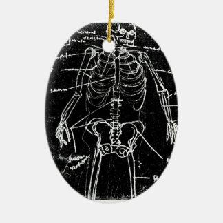yaie tokyo human skeleton anatomy ceramic ornament
