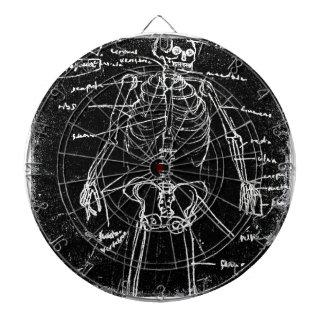 yaie tokyo human skeleton anatomy dartboard