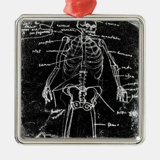 yaie tokyo human skeleton anatomy metal ornament