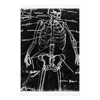 yaie tokyo human skeleton anatomy stationery