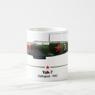 Yak-7 - Battle of Stalingrado - 1942 Coffee Mug