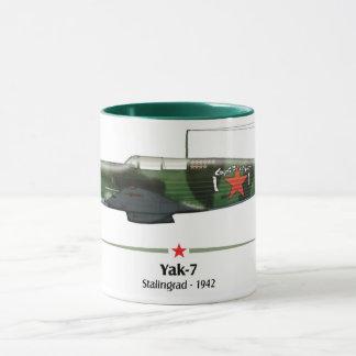 Yak-7 Russia - Stalingrad Battle - 1942 Mug