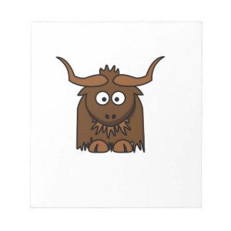 yak baby notepads