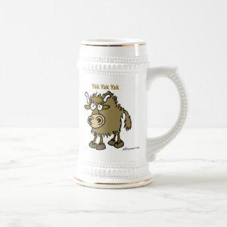 Yak Beer Stein