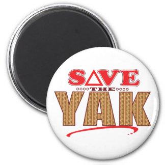 Yak Save 6 Cm Round Magnet