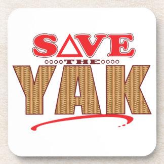 Yak Save Coasters