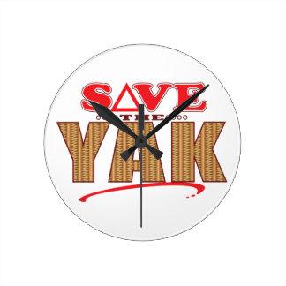 Yak Save Wallclocks