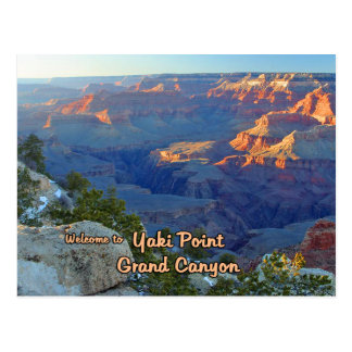Yaki Point At The Grand Canyon Postcard