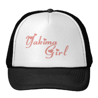 Yakima Girl tee shirts Trucker Hats