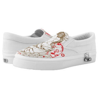 Yakuza girl slip on shoes