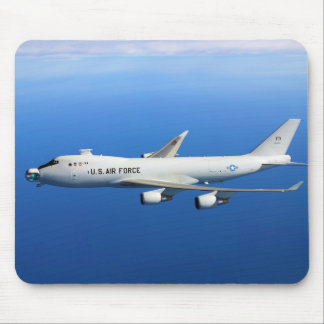 YAL-1A Airborne Laser Aircraft in flight Mouse Pad