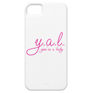 YAL - You're a Lady™ Barely There iPhone 5 Case