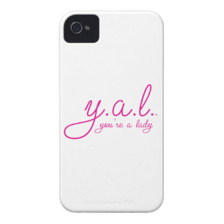 YAL - You're a Lady™ iPhone 4 Case