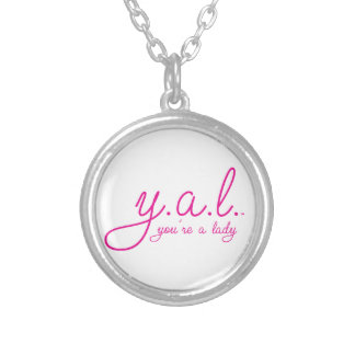 YAL - You're a Lady™ Silver Plated Necklace
