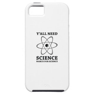 Y'all Need Science iPhone 5 Cover