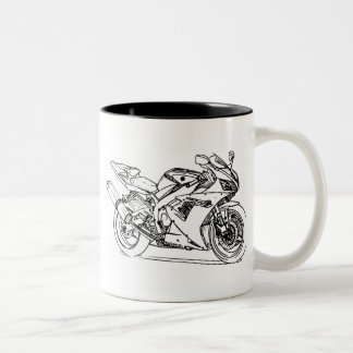 Yam R1 2002+ Two-Tone Coffee Mug