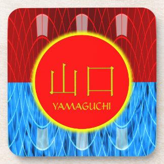 Yamaguchi Monogram Fire & Ice Coasters