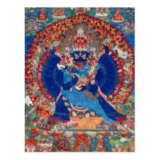 Yamantaka Vajrabhairava Tibetan Buddhist Deity Postcard