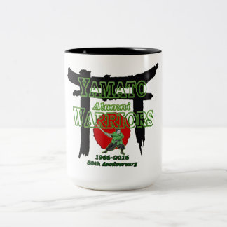 Yamato HS Japan Warriors 50th 1966-2016 Two-Tone Coffee Mug
