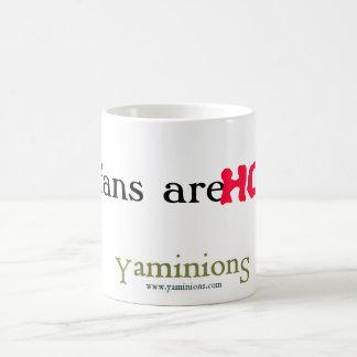 yaminions, My fans are, HOT! Magic Mug