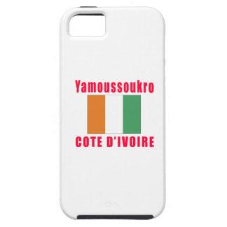 Yamoussoukro Cote d'Ivoire capital designs iPhone 5 Case