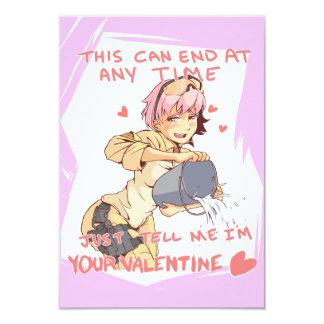 Yandere Operator Valentine 3 Card