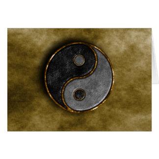 Yang and Yin Card