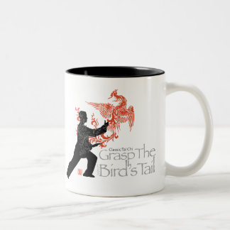 Yang Tai Chi 'Fire Phoenix' Ceramic Two Tone Mug