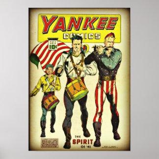 Yankee Comics #2 Poster