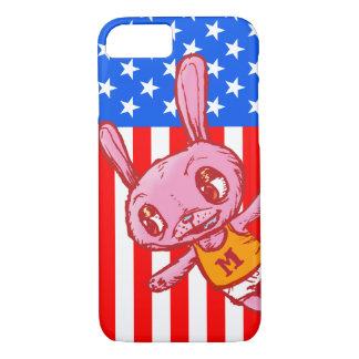 Yankee Doodle Bunny Cartoon iPhone Case