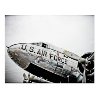 Yankee Doodle Dandy Air Force Warbird Postcard