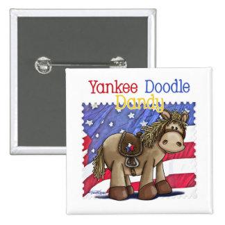 Yankee Doodle Dandy Pinback Buttons