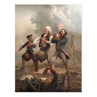 Yankee Doodle Dandy postcard