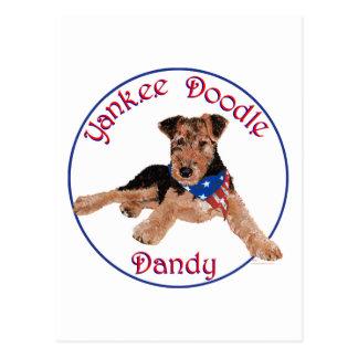 Yankee Doodle Dandy Pup Post Card
