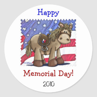 Yankee Doodle Dandy Round Sticker