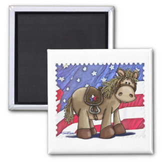 Yankee Doodle Dandy Square Magnet