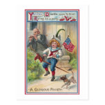 Yankee Doodle Vintage Fourth of July Postcards
