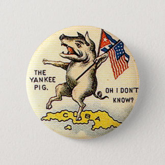 Yankee Pig - Button